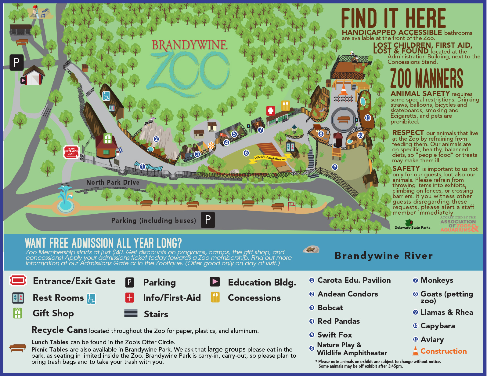 2019-visitor-map-03-12-1 • Brandywine Zoo • Go a Little Wild