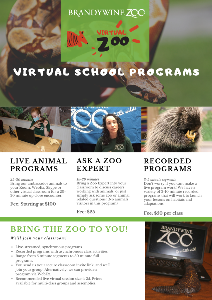 Virtual Zoo Programs Guide